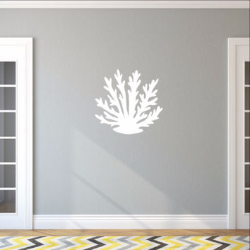 Sea Coral Style A Vinyl Wall Decal 22570