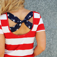 July 4th Ready Blouse