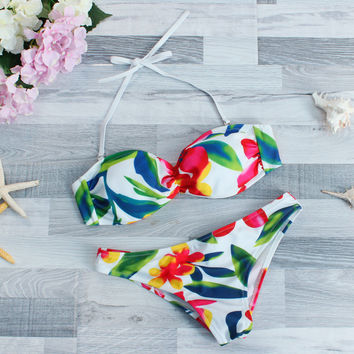 High Quality Summer Comfortable Sexy Print Ladies Swimwear [9891779274]