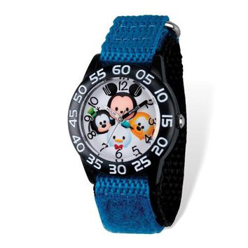 Disney Kids Tsum Tsum Mickey & Friends Blue Time Teacher Watch