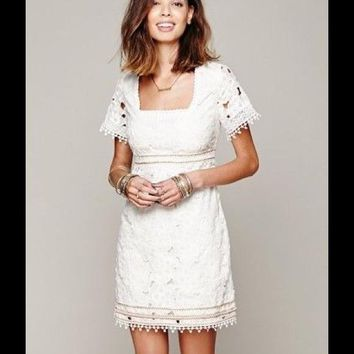 Free people I Dream Of Daisies Shift Dress