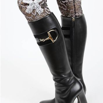 LEG WARMER TWO TONE LACE BOOT TOPPER LACE BOW