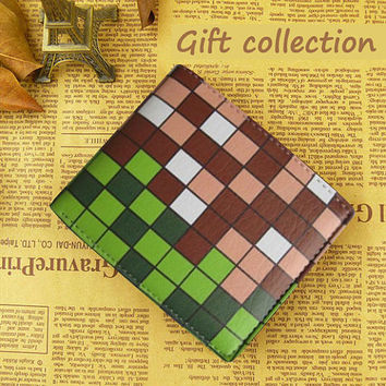 Minecraft New arrival wallet Leather, Gift Wallet Luxury