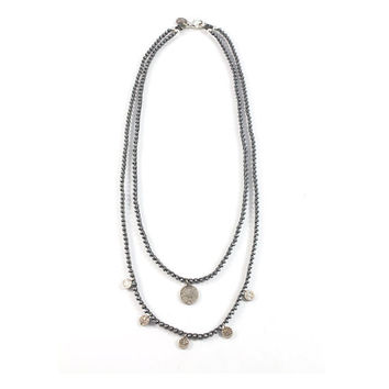Yona Necklace (Matte Silver)