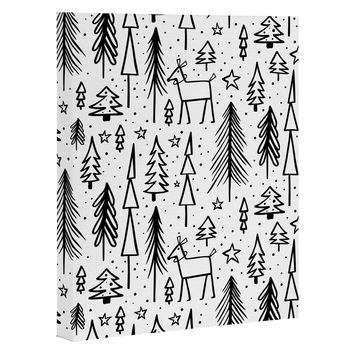 Heather Dutton Winter Wonderland White Art Canvas