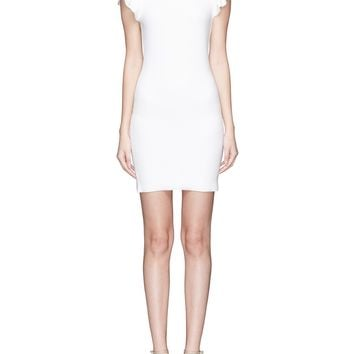 alice + olivia | 'Kellin' ruffle sleeve knit dress | Women | Lane Crawford - Shop Designer Brands Online