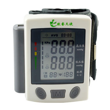 Fully Automatic Digital Blood Pressure Monitor Wrist Type