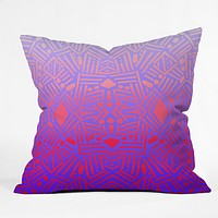Jacqueline Maldonado Bali Ombre Throw Pillow