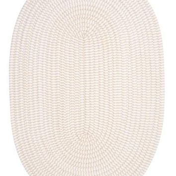 Colonial Mills Ticking Stripe Oval Area Rug