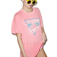 Wildfox Couture Vacation Mode Favorite Tee | Dolls Kill