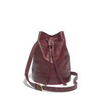 The Large Drawstring Bucket Bag