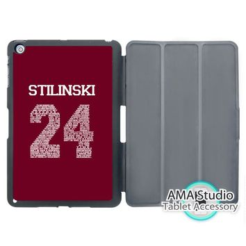 Teen Wolf Stiles Stilinski 24 Jersey Case For Apple iPad Mini 1 2 3 4 Air Pro 9.7 Stand Smart Folio Cover