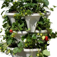 Self Watering 3 Tier Stackable Garden Vertical Planter
