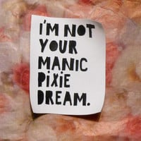 I'm Not Your Manic Pixie Dream Patch