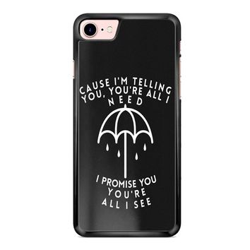 Bring Me The Horizon Lyric iPhone 7 Plus Case