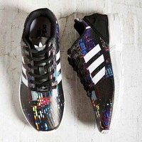 adidas Originals ZX Flux Running Sneaker - Black & White