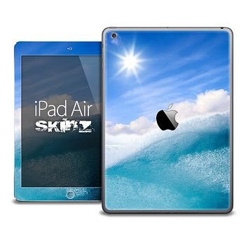 The Sunny Day Waves Skin for the iPad Air