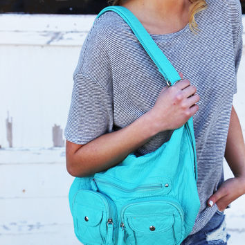 Convertible Backpack {Turquoise}