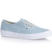 Vans Authentic Slim(Chambray)Blue/Wht
