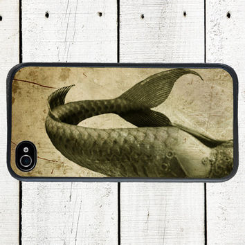 Mermaid iPhone Case, Mermaid Tail Phone .Case - iPhone 5 Case - iPhone 4,4s - Gifts Under 25