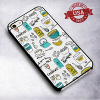 Breakfest Time - For iPhone 4/ 4S/ 5/ 5S/ 5SE/ 5C/ 6/ 6S/ 6 PLUS/ 6S PLUS/ 7/ 7 PLUS Case And Samsung Galaxy Case