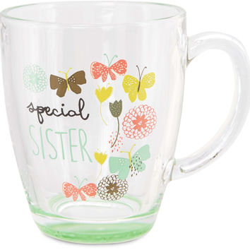 Special Sister - Glass Cup