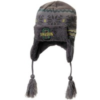 Toddler Oregon Ducks Top of the World Gray Turbulent Knit Beanie