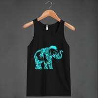 Mint Elephant - Grab a Shirt - Skreened T-shirts, Organic Shirts, Hoodies, Kids Tees, Baby One-Pieces and Tote Bags