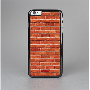 The Bright Red Brick Wall Skin-Sert for the Apple iPhone 6 Skin-Sert Case