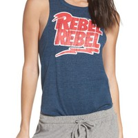 Chaser David Bowie Rebel Rebel Lounge Muscle Tank | Nordstrom