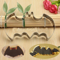 Halloween Fondant Cake Cookies Biscuit Cutter Mold Big Bat Batman Vampire Mould = 1928038724