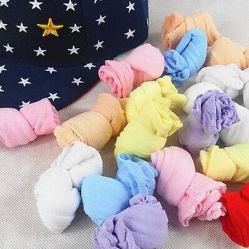CA 5 Pairs Best Price Colorful Newborn Baby Girls Boys Soft Socks Mix Colors CB2