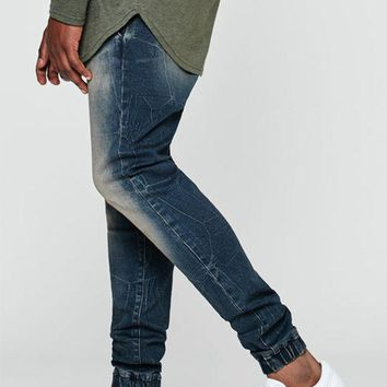 VONE05W PacSun Jogger 2.0 Flex Light Denim Pants