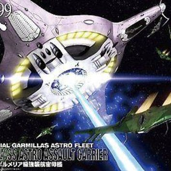 Star Blazers 2199 1/1000 Pormelia Class Astro Assault Carrier Space Battleship