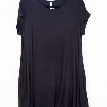 Trapeze Pocket Dress