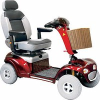 Sprinter XL4 Deluxe 889XLSBN - Shoprider Mobility 4-Wheel Full Size Scooters | TopMobility.com