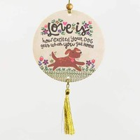 Love Is ... Dog Air Freshener