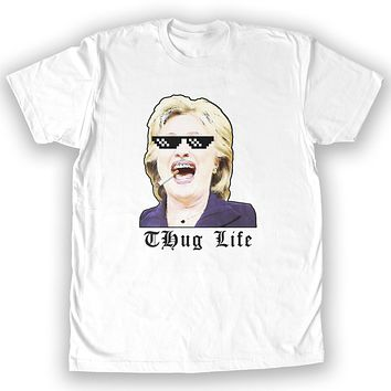 Function - Thug Life Hillary Men's Fashion T-Shirt