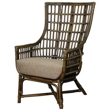 Tereina Rattan Arm Chair BEACH