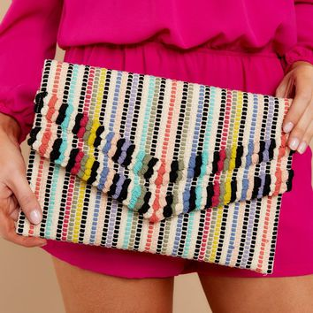 Pop Of Color Multi Clutch