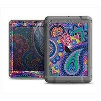 The Bold Colorful Paisley Pattern Apple iPad Mini LifeProof Nuud Case Skin Set