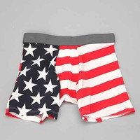 Stars 'N' Stripes Boxer Brief- Red