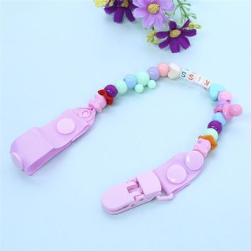 Dummy Baby Beads Pacifier Chains
