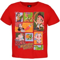 Jake and the Neverland Pirates - Neverland Stack Toddler T-Shirt