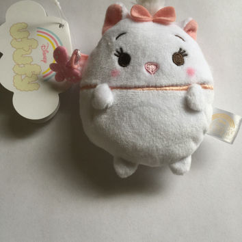 Disney Store Japan Marie Ufufy Scented Small Coin Purse Plush New with Tags