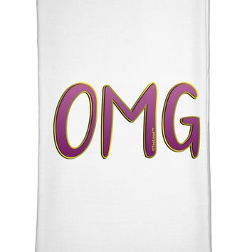 OMG Flour Sack Dish Towel by TooLoud