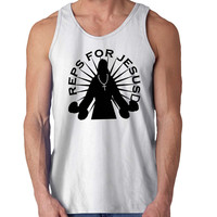 reps for jesus For Mens Tank Top *