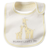 Mommy Loves Me Reversible Teething Bib