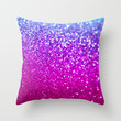 New Galaxy Throw Pillow by Lisa Argyropoulos