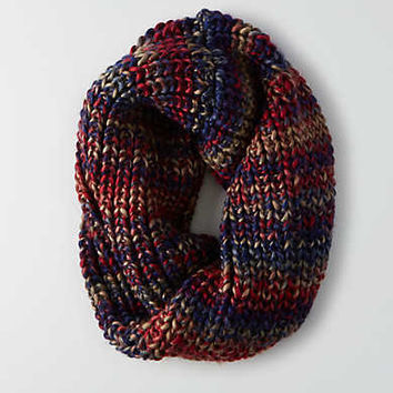 AEO Wool Twist Front Snood , Burgundy